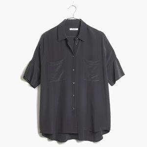 Silk courier shirt